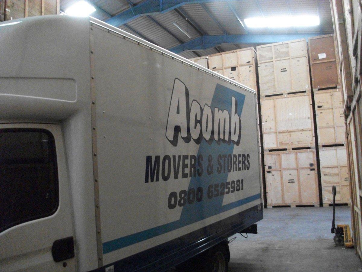 Acomb Storage van